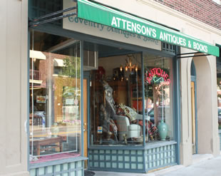 Attenson's Antiques & Books on Coventry